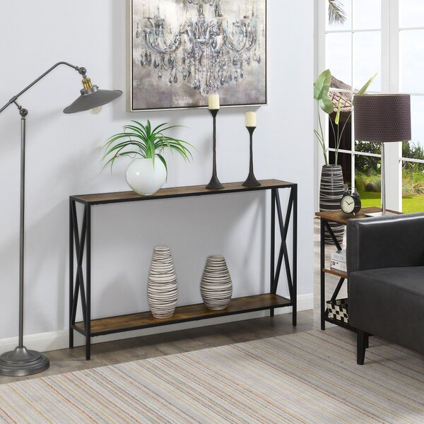 25 Inch Long Console Table | Wayfair