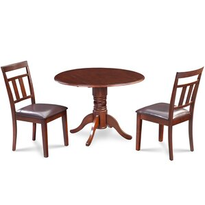 Chesterton 3 Piece Carved Dining Set by Alcott H..