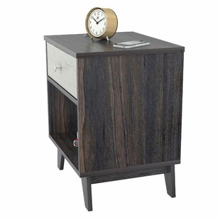 Affordable Pinkerton 1 Drawer Nightstand by Wrought Studio