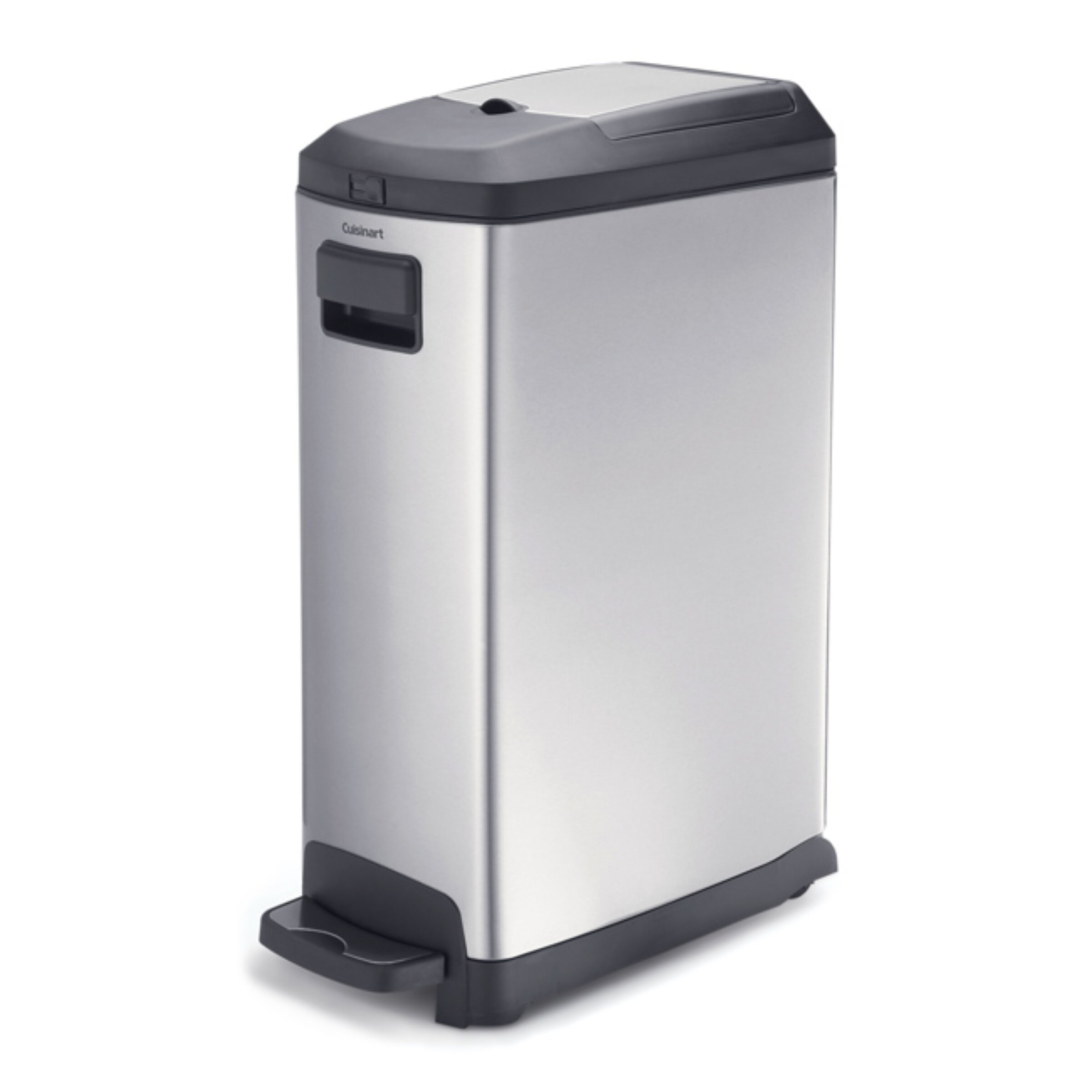 Kamenstein Steel 9.25 Gallon Step On Trash Can & Reviews | Wayfair