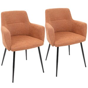 Alfie Upholstered Dining Chair (Set of 2) by Corrigan Studio