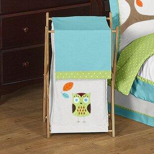 Sweet Jojo Designs Hooty Laundry Hamper