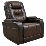 Labelle Faux Leather Power Recliner by Latitude Run®