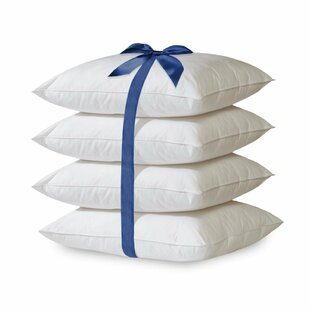 Hypoallergenic Bed Down Alternative Pillow (Set of 4) by Home Sweet Home Dreams