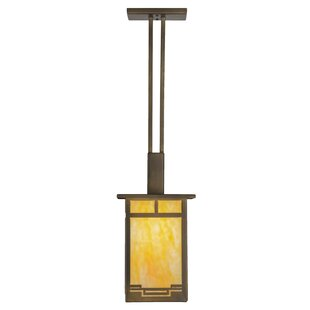 1-Light Square/Rectangle Pendant by Meyda Tiffany