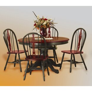 Hartlyn 5 Piece Dining Set Loon Peak