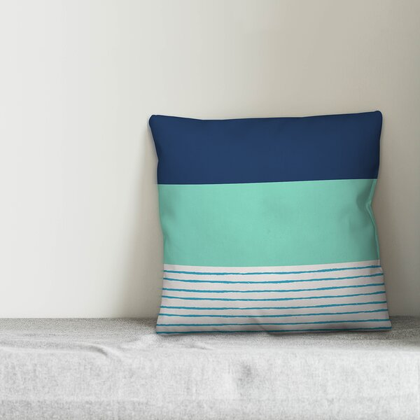 Highland Dunes Killebrew Stripe Indoor Outdoor Throw Pillow Reviews Wayfair