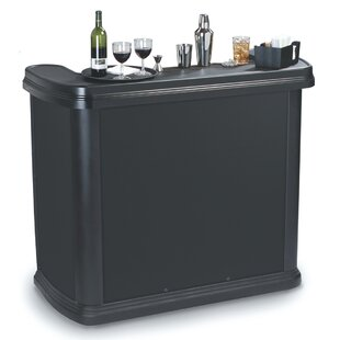 Portable Bar With Wheels   Wayfair