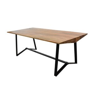 Union Rustic Jayesh Solid Wood Dining Table