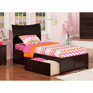 Soho Extra Long Twin Sleigh Mate's & Captain's Bed with Storage ByAtlantic Furniture