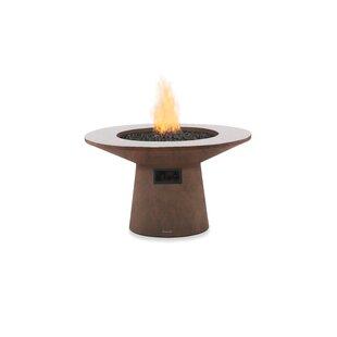 Brown Jordan Fires Mesa Concrete Gas Fire..