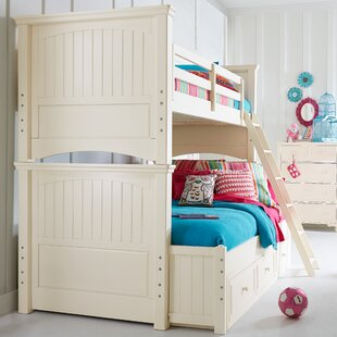 Summerset Twin Over Full Bunk Bed with Storage by LC Kids