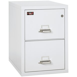 FireKing Fireproof 2 Drawer Vertical Filing Cabinet