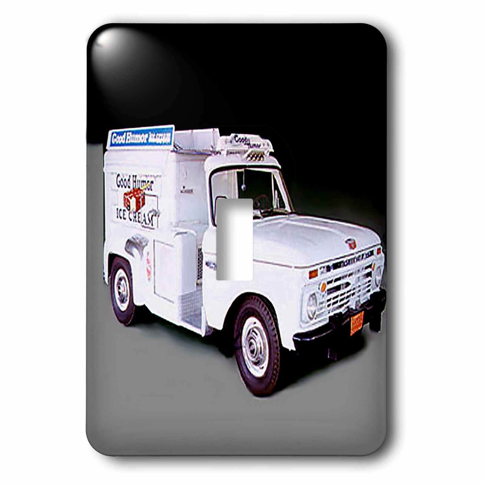 3drose Ice Cream Truck 1 Gang Toggle Light Switch Wall Plate Wayfair