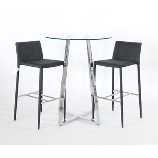 Sharan 3 Piece Pub Table Set By Metro Lane