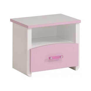 Kaleb 1 Drawer Nightstand by Zoomie Kids