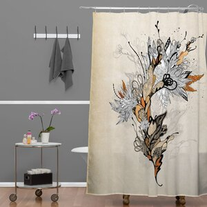 Herkimer Floral 1 Shower Curtain