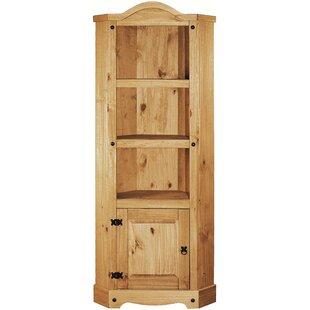 Dean Corner Bookcase By Alpen Home
