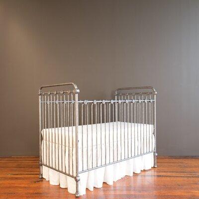 Bratt Decor Joy Baby 3-in-1 Convertible Crib Color: Pewter