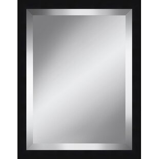 Orren Ellis Beveled Plate Plastic Framed Accent Mirror