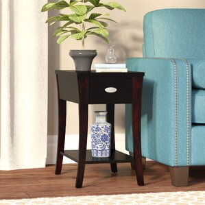 Wynston End Table With Storage by Alcott Hill