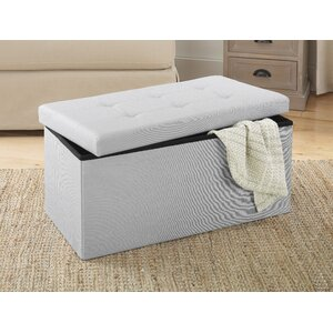 Tankersley Collapsible Storage Bench