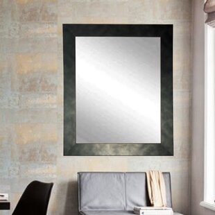 Brandt Works LLC Clouded Gunmetal Wall Mirror