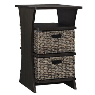 Glines End Table with Storage ..