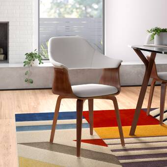 Allmodern Zigler Upholstered Dining Chair Reviews Wayfair