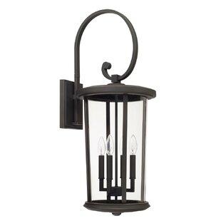 Brutus 4-Light Outdoor Wall Lantern