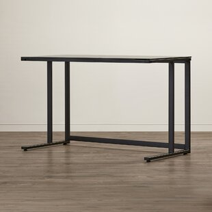 Abbott Modern Glass Writing Desk by Latitude Run #2