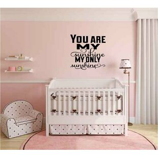 Ormsby You Are My Sunshine My Only Sunshine Wall Decal
