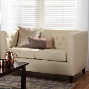 Shop Madeleine Chesterfield Loveseat by Darby Home Co