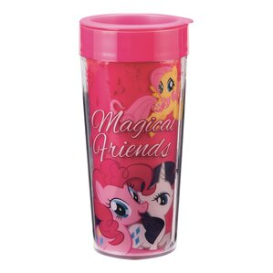 My Little Pony Magic Friends 16 Oz. Plastic Travel Mug