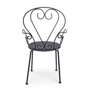 Cervantes Stacking Garden Chair (Set Of 4) By World Menagerie