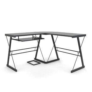 Ondina 3 Piece Corner L-Shaped Computer Desk by Ebern Designs