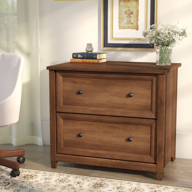 Great Silver 2 Drawer Lateral Filing Cabinet