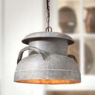 Gracie Oaks Vianden 1-Light Inverted Pendant