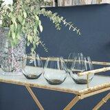 Rochell 16 oz. Stemless Wine Glass (Set of 4)