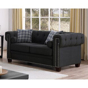 Buying Quan Chesterfield Loveseat by Canora Grey Reviews (2019) & Buyer's Guide