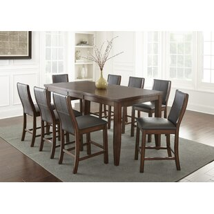 Awesome Abigale 9 Piece Counter Height Dining Set