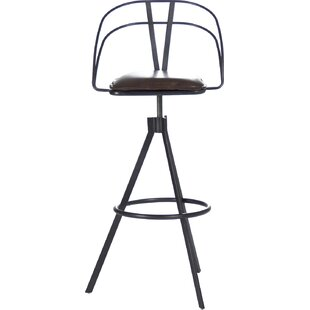 Zentique Nathan Adjustable Height Bar Stool