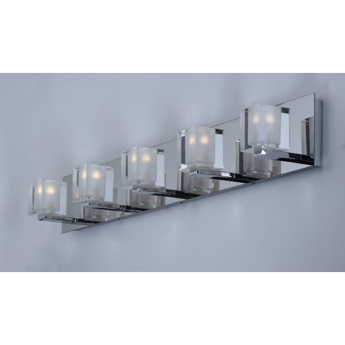 Algedi 5 Light Bath Bar
