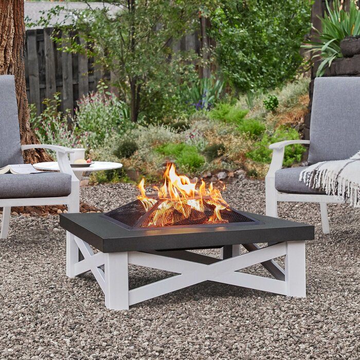 Austin Steel Wood Burning Fire Pit