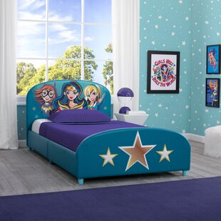 DC Super Heroes Twin Platform Bed