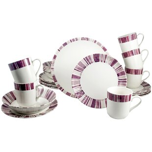 Royal Classic 24 Piece Dinnerware Set, Service for 6