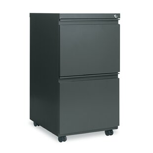 2 Drawer Mobile Pedestal File Cabinet