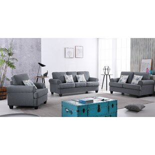 Best Reviews Mccants 3 Piece Living Room Set by Red Barrel Studio Reviews (2019) & Buyer's Guide