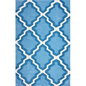Cine Blue Inez Indoor/Outdoor Area Rug