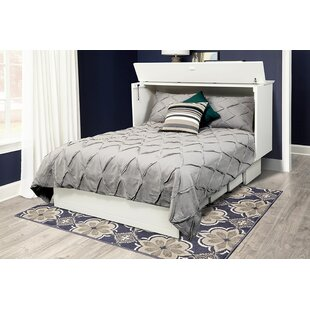 Catherine Queen Storage Murphy Bed with Mattress